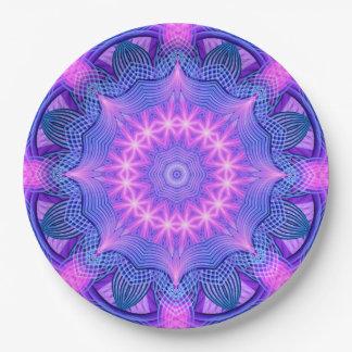 Traumstern-Mandala Pappteller