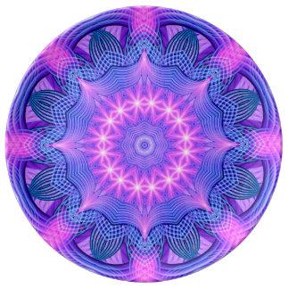 Traumstern-Mandala Porzellanteller