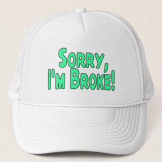 Traurig bin ich brach truckerkappe