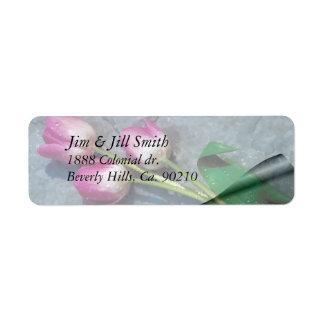 Traurig für Ihre Verlust-Rosa-Tulpen