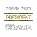 TRAURIG SCHON? - Präsident OBAMA Besticktes Hoodie