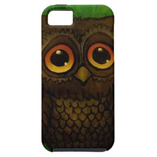 Traurige Eulenaugen iPhone 5 Cover