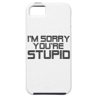 Traurige Kohle iPhone 5 Hülle
