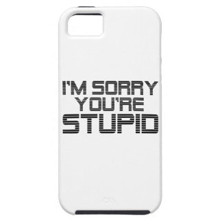 Traurige Kohle Tough iPhone 5 Hülle