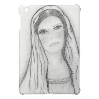 Traurige Mary iPad Mini Hülle