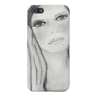 Traurige Mary iPhone 5 Schutzhülle