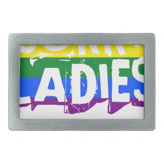 Trauriger Gay Pride der Damen-LGBT Rechteckige Gürtelschnallen