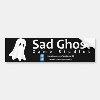 Trauriger Geist-Spiel-Studio-Autoaufkleber Autoaufkleber