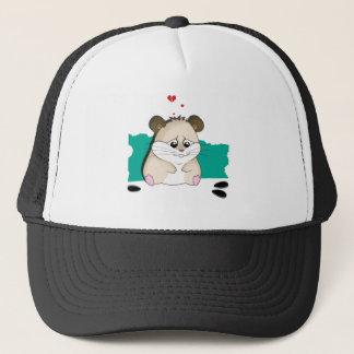 trauriger Hamster Truckerkappe