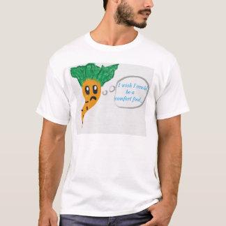 Trauriger Karotten-T - Shirt