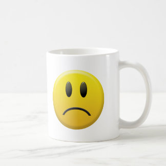 Trauriger Smiley Kaffeetasse