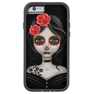 Trauriger Tag des toten Mädchens auf Schwarzem Tough Xtreme iPhone 6 Hülle