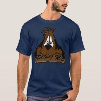 Trauriger Welpen-Dunkelheits-T - Shirt