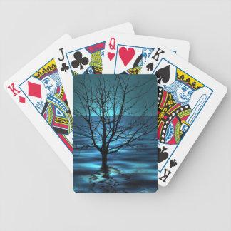 trauriges Baum tree-76748 kahl sehen Bicycle Spielkarten