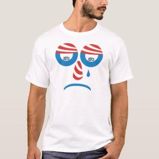 Trauriges Gesicht Obama 2012 T-Shirt