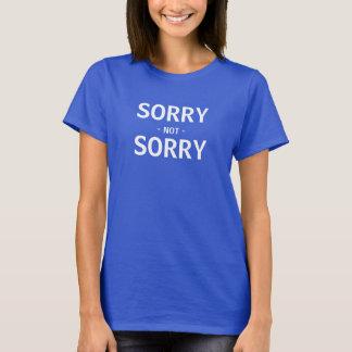 Trauriges nicht trauriges T-Shirt