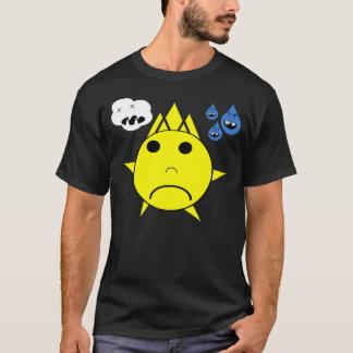 Trauriges Sun-T-Shirt durch Skullnskin T-Shirt