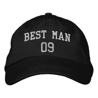 Trauzeuge: Kundengerechter Hochzeits-Party-Hut Bestickte Baseballkappe