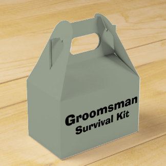 """""""Trauzeuge-"""" Überlebensausrüstungs-Kasten Geschenkkartons"""