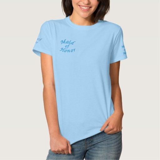 Trauzeugin Besticktes T-Shirt