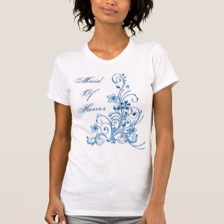 Trauzeugin-T - Shirt: Himmel-Blau-Eleganz