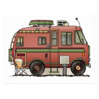 Travco BewegungsZuhause-Camper RV Postkarte