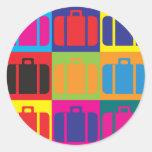 Travel Pop Art Sticker