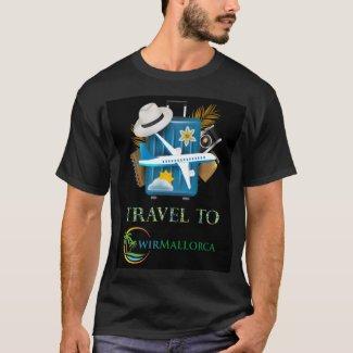 Travel to Mallorca - wirMallorca T-Shirt
