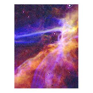 Treckies Nebelflecke Postkarte
