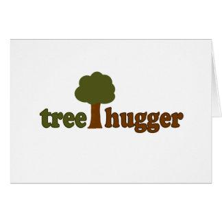 Treehugger (Baum) Karte