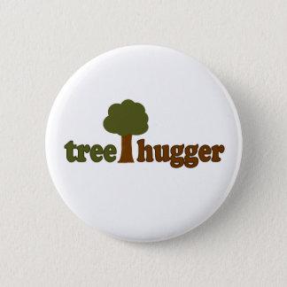 Treehugger (Baum) Runder Button 5,1 Cm