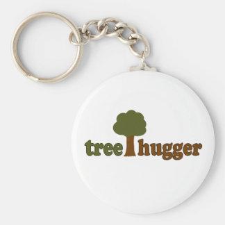 Treehugger (Baum) Schlüsselanhänger