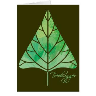 Treehugger Gruß-Karte Karte
