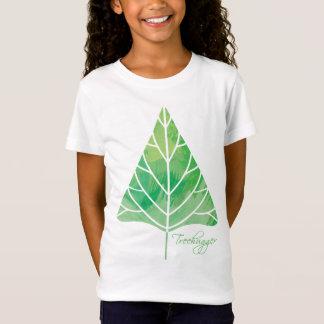 Treehugger Mädchen-Baby - Puppe (angepasst) T-Shirt