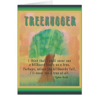 Treehugger Originalvorlage Karte