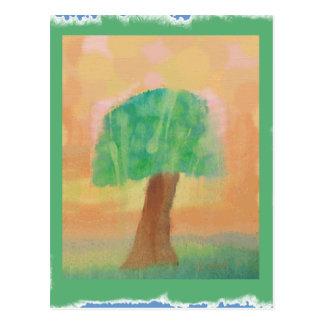 Treehugger Originalvorlage Postkarte