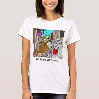 Treehugger Rick London Cartoon-lustige Geschenke T-Shirt