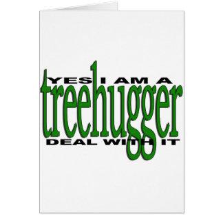 Treehugger Stolz Karte