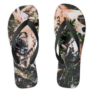 Treemo Gang-Blätter-u. Kegel-Tarnung drehen Flip Flops