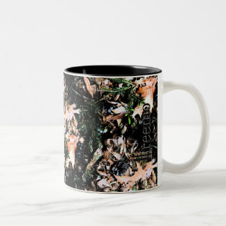 Treemo Gang-Blätter-u. Zweifarbige Tasse