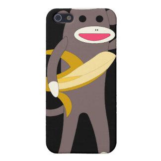 Treffen Sie Affen mit Bananen-Schwerter IPhone iPhone 5 Cover