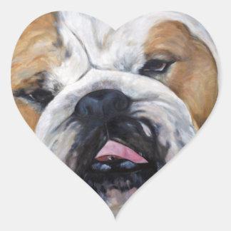 Treffen Sie das Tierkunstgeschenk der Herz-Aufkleber