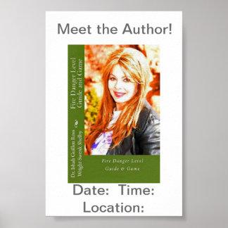 Treffen Sie den Autor! (2) Poster