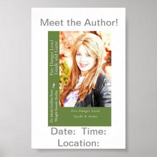 Treffen Sie den Autor! Poster
