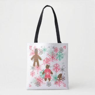 Treffen Sie die Ingwer! WeihnachtsTaschen-Tasche Tasche