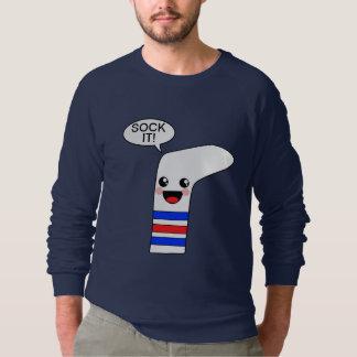 Treffen Sie es hart Sweatshirt