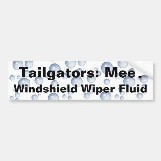 Treffen Sie meine Windschutzscheiben-Flüssigkeit Autoaufkleber