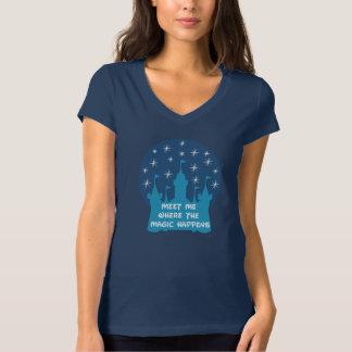 Treffen Sie mich, wo die Magie geschieht T-Shirt