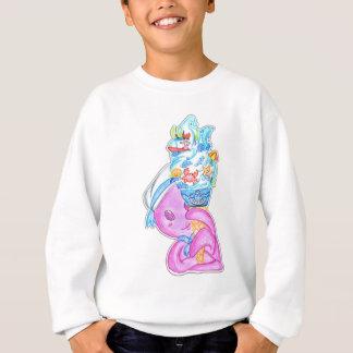 Treibeis-Creme Sweatshirt
