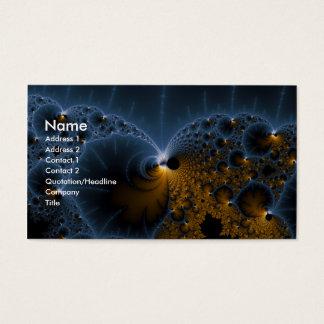 Treibende Gelees - Fraktal-Kunst Visitenkarte